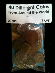 40 Different World Coins