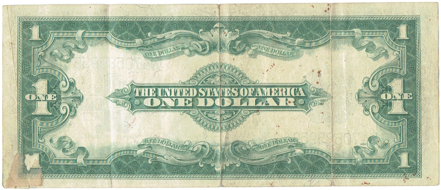 1923 One Dollar Silver Certificate