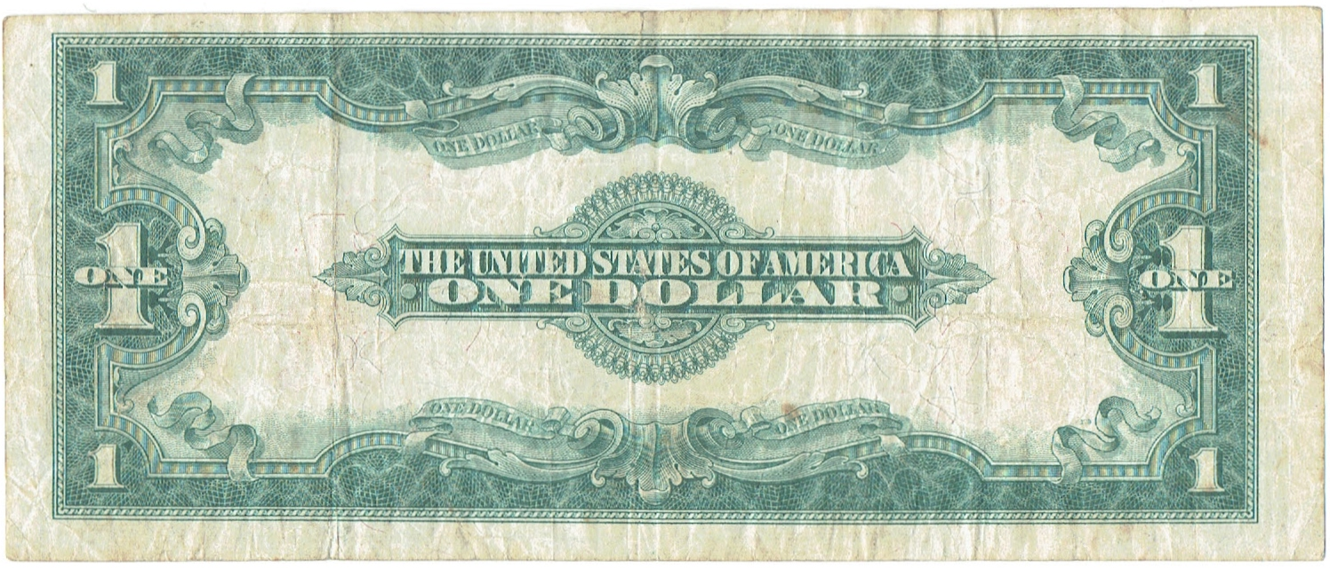 1923 One Dollar United States Note