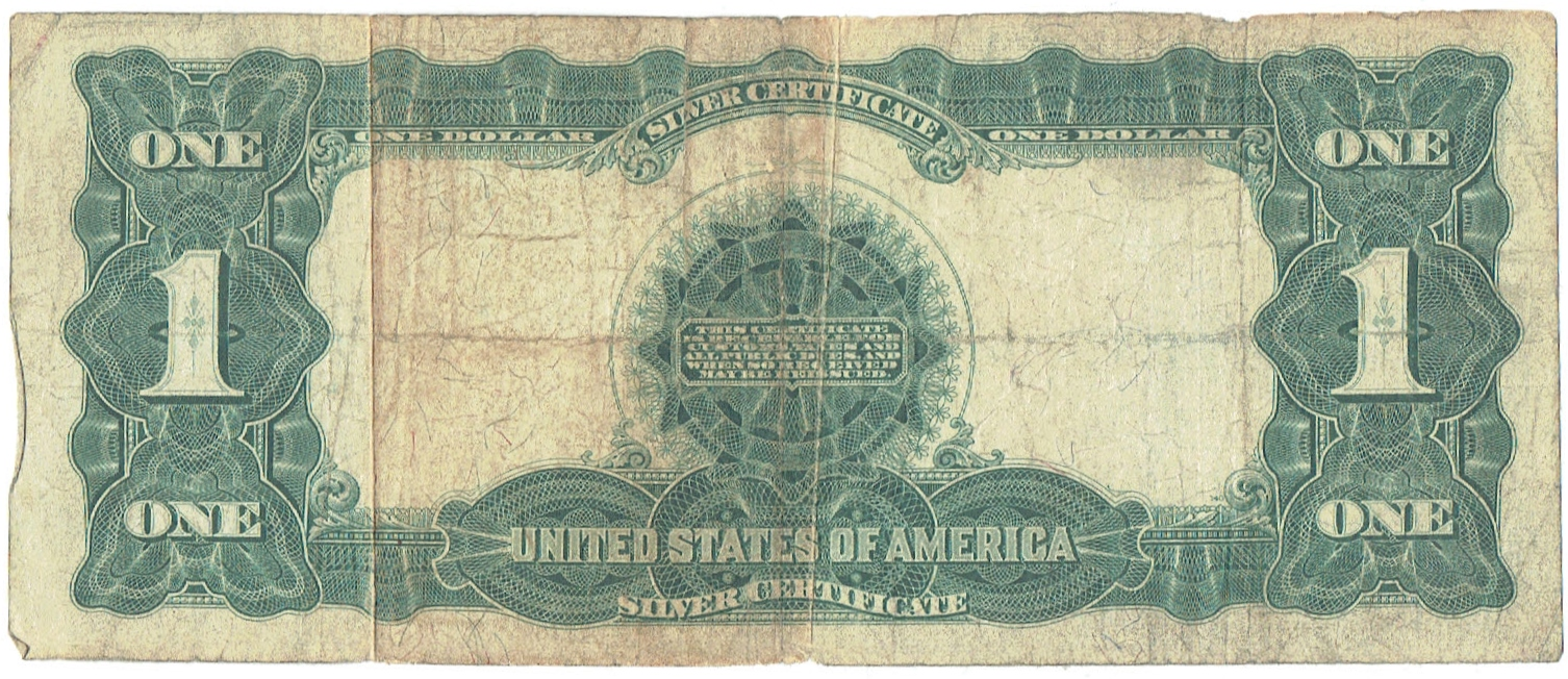 1899 One Dollar Silver Certificate