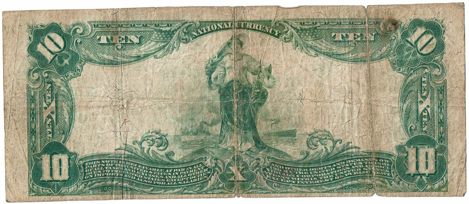 1899 Two Dollar Silver Certificate