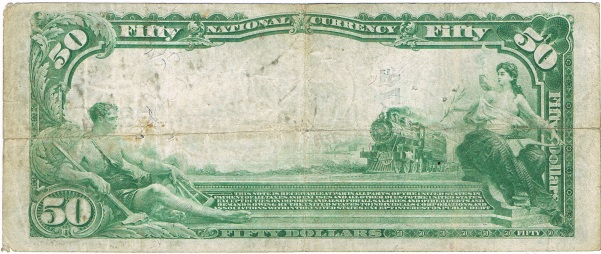1902 Fifty Dollar National Currency