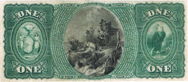 1875 One Dollar National Currency