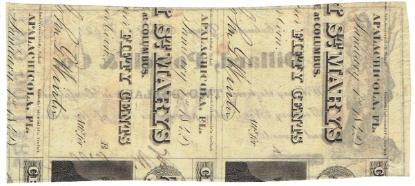 1862 Two Dollar Script