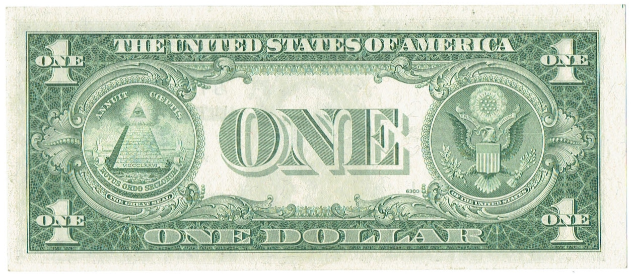 1935 G one dollar silver certificate