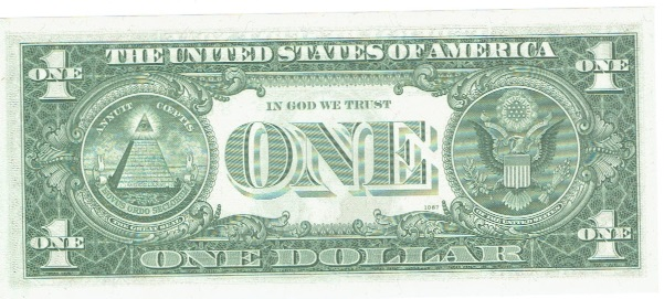 1963 B One Dollar Federal Reserve Note Barr Note