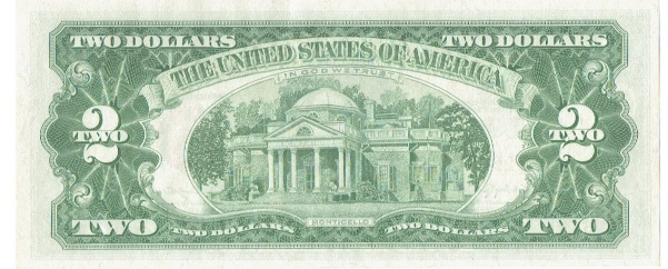 1963 Two Dollar United States Note Star Note