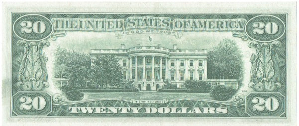 1974 twenty dollar federal reserve note